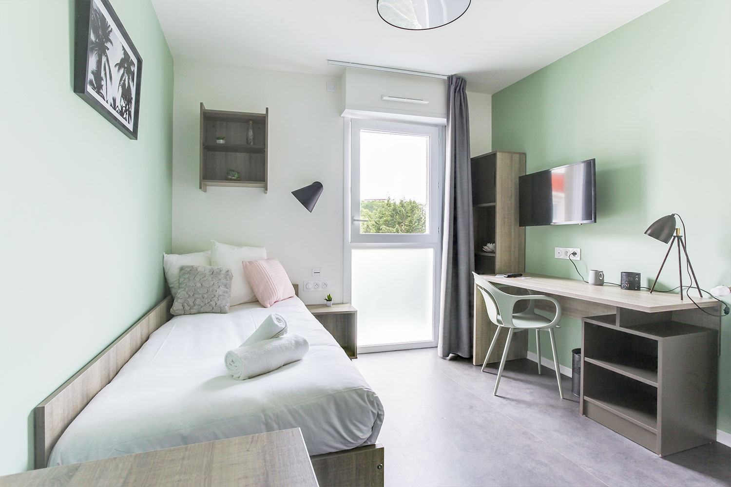 My student residence at Palaiseau